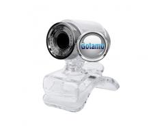 Kompiuterio kamera Webcam 1280 x 720 JetView sidabro spalvos
