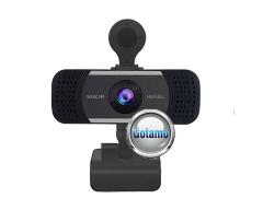 Kompiuterio kamera Webcam 1920 x 1080 Full HD View-A5D sidabro spalvos