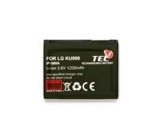 Akumuliatorius baterija IP-580A LG mobiliesiems telefonams didesnės talpos