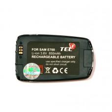 Akumuliatorius baterija Samsung SGH-E700 mobiliesiems telefonams didesnės talpos