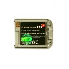 Akumuliatorius baterija Siemens CF110 mobiliesiems telefonams didesnės talpos