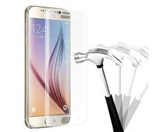 Apsauga ekranui gaubtas grūdintas stiklas Samsung Galaxy S6 edge mobiliesiems telefonams skaidrus