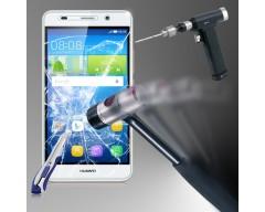 Apsauga ekranui grūdintas stiklas Huawei Y6 mobiliesiems telefonams