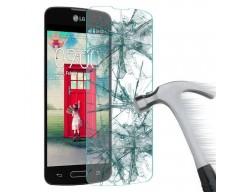 Apsauga ekranui grūdintas stiklas LG Optimus L65 mobiliesiems telefonams