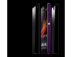 Apsauga ekranui ir nugarėlei grūdintas stiklas Sony Xperia Z mobiliesiems telefonams