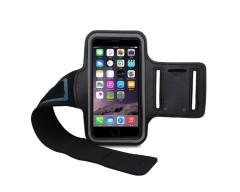 Dėklas sportui Apple iPhone 5 5s SE mobiliesiems telefonams juodos spalvos