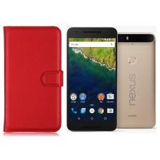 Diary Mate dėklas Huawei Nexus 6P mobiliesiems telefonams raudonos spalvos Kaunas | Vilnius | Palanga