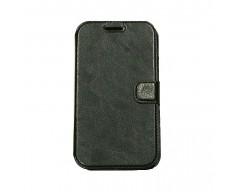 Diary Mate dėklas Samsung Galaxy Grand Samsung Galaxy Grand Neo telefonams juodos spalvos