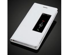 Diary Talk dėklas Huawei Ascend P7 mobiliesiems telefonams baltos spalvos