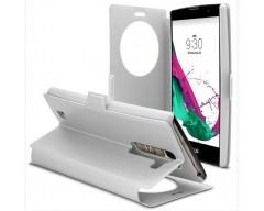 Diary Talk dėklas LG G4c mobiliesiems telefonams baltos spalvos