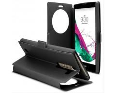 Diary Talk dėklas LG G4c mobiliesiems telefonams juodos spalvos