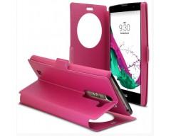 Diary Talk dėklas LG G4c mobiliesiems telefonams rožinės spalvos