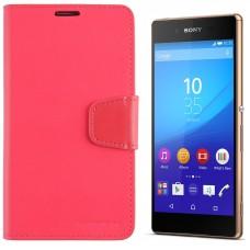 Goospery Sonata Diary dėklas Sony Xperia Z3+ mobiliesiems telefonams rožinės spalvos Vilnius   Vilnius   Palanga