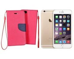 Manager dėklas Apple iPhone 6 6s mobiliesiems telefonams rožinės spalvos