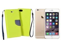 Manager dėklas Apple iPhone 6 Plus 6s Plus mobiliesiems telefonams salotinės spalvos