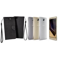 Manager dėklas Huawei Honor 7 mobiliesiems telefonams juodos spalvos