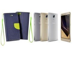 Manager dėklas Huawei Honor 7 mobiliesiems telefonams mėlynos spalvos