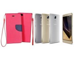 Manager dėklas Huawei Honor 7 mobiliesiems telefonams rožinės spalvos