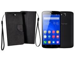 Manager dėklas Huawei Honor Holly mobiliesiems telefonams juodos spalvos