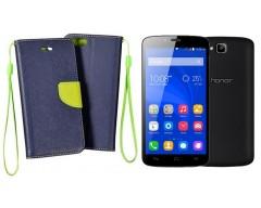 Manager dėklas Huawei Honor Holly mobiliesiems telefonams mėlynos spalvos