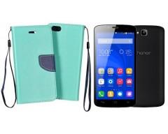 Manager dėklas Huawei Honor Holly mobiliesiems telefonams mėtinės spalvos