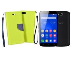 Manager dėklas Huawei Honor Holly mobiliesiems telefonams salotinės spalvos