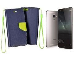 Manager dėklas Huawei Mate S mobiliesiems telefonams mėlynos spalvos