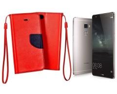 Manager dėklas Huawei Mate S mobiliesiems telefonams raudonos spalvos