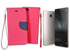 Manager dėklas Huawei Mate S mobiliesiems telefonams rožinės spalvos