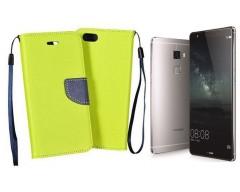 Manager dėklas Huawei Mate S mobiliesiems telefonams salotinės spalvos