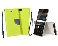 Manager dėklas Huawei P8 mobiliesiems telefonams salotinės spalvos