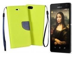 Manager dėklas Sony Xperia C4 mobiliesiems telefonams salotinės spalvos