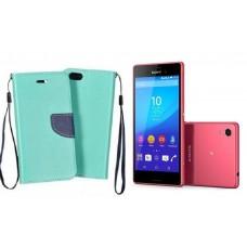 Manager dėklas Sony Xperia M4 Aqua mobiliesiems telefonams mėtinės spalvos Vilnius | Palanga | Šiauliai