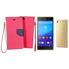Manager dėklai Sony Xperia M5 mobiliesiems telefonams rožinės spalvos Klaipėda | Palanga | Vilnius