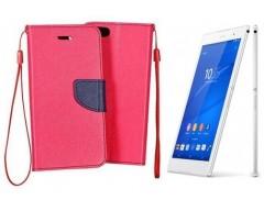 Manager dėklas Sony Xperia Z3 mobiliesiems telefonams rožinės spalvos
