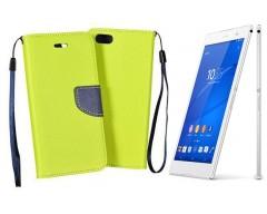 Manager dėklas Sony Xperia Z3 mobiliesiems telefonams salotinės spalvos