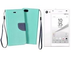 Manager dėklas Sony Xperia Z5 Compact mobiliesiems telefonams mėtinės spalvos