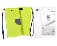 Manager dėklas Sony Xperia Z5 Compact mobiliesiems telefonams salotinės spalvos