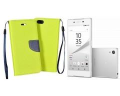 Manager dėklas Sony Xperia Z5 mobiliesiems telefonams salotinės spalvos