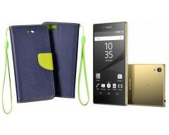 Manager dėklas Sony Xperia Z5 Premium mobiliesiems telefonams mėlynos spalvos