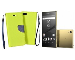 Manager dėklas Sony Xperia Z5 Premium mobiliesiems telefonams salotinės spalvos