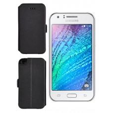 Slim Diary dėklas Samsung Galaxy J1 mobiliesiems telefonams juodos spalvos Palanga | Šiauliai | Palanga
