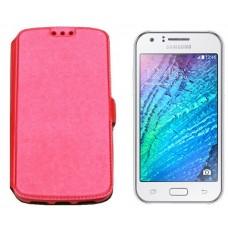 Slim Diary dėklas Samsung Galaxy J1 (J100) mobiliesiems telefonams rožinės spalvos Palanga | Plungė | Šiauliai