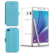 Slim Diary dėklas Samsung Galaxy Note 5 mobiliesiems telefonams žydros spalvos Palanga | Kaunas | Klaipėda