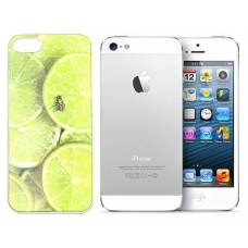 3D holograminis dėklas nugarėlė Apple iPhone 5 5s SE mobiliesiems telefonams Green Lime