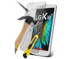 Apsauga ekranui grūdintas stiklas LG K10 mobiliesiems telefonams