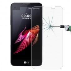 Apsauga ekranui grūdintas stiklas LG X screen mobiliesiems telefonams