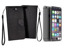 Manager dėklas Apple iPhone 7 8 SE (2020) mobiliesiems telefonams juodos spalvos