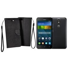 Manager dėklas Huawei Y5 mobiliesiems telefonams juodos spalvos