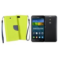 Manager dėklas Huawei Y5 mobiliesiems telefonams salotinės spalvos